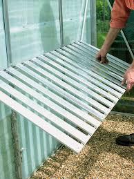 Fold Up Shelf Using A Greenhouse How Tos Diy