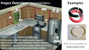 hard wire cabinet lighting. Under Cabinet Lighting Hard Wired Wiring Installing D Wire