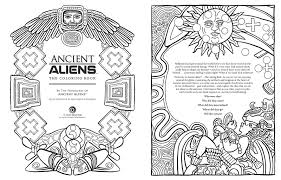 Ancient Aliens The Coloring Book The Producers Of Ancient