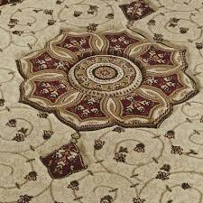 heritage rug cream red 4400