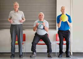 sit to stand chair exercise