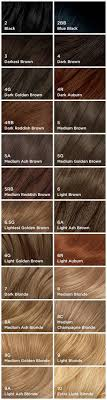 Clairol Hair Dye Color Chart Valid Clairol Hair Colors Chart Hair Color Results Chart