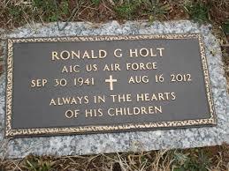 Ronald Gilbert Holt (1941-2012) - Find A Grave Memorial