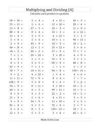 Multiplying And Dividing Algebraic Fractions Worksheet Tes ...