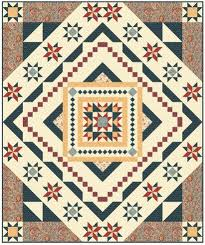 Essex Block of the Month quilt program: This queen-size design ... & Essex Block of the Month quilt program: This queen-size design features a  center Adamdwight.com