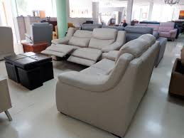 electric leather sofa 3 2