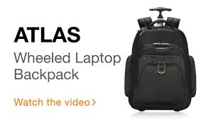 EVERKI Atlas Wheeled <b>Laptop Backpack</b>, <b>13</b>-<b>Inch</b> to 17.3-Inch ...
