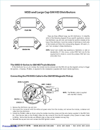 wiring diagram of msd ignition 6ad wiring library sbc distributor wiring diagram online schematics diagram hei wiring schematic 2005 gm hei wiring diagram