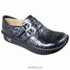 alegria black leather clogs womens alli mules your shoes contemporary