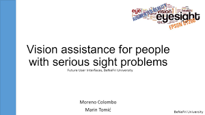 Vision Assistance Benefri University Vision Assistance For People With Serious