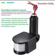 sanitizer tunnel sensor with 5 sec