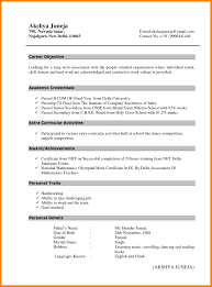Resume Format For Freshers Accountant 1080 Player