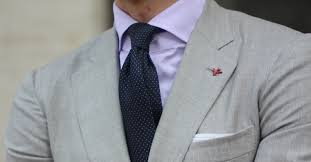 Tailored Grey Suit Combination