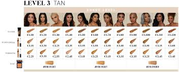 Morphe Foundation Chart Find Your Shade Squad Morphe Us