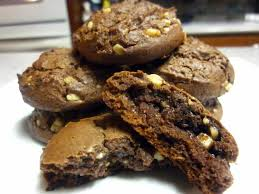 Chocolate Peanut Butter Cake Mix Cookies With Toffee Bits Cookbook