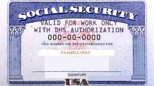 dhs annotated us social security card