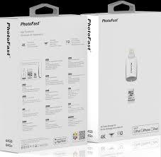 apple 4k 64gb. gigastone photofast apple exclusive 4k drone video capture kit 4k 64gb