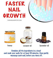 diy nail soak for faster nail growth