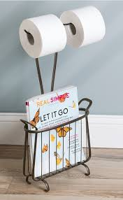 Toilet Roll Holder Magazine Rack 100 Practical And Gorgeous Bathroom Magazine Racks You Will Love 72