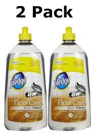 get ations pledge floorcare wood finish floor cleaner 27 oz 2 pack
