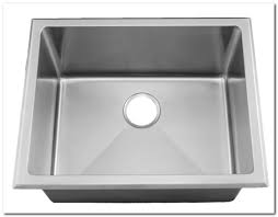 deep stainless steel undermount utility sink