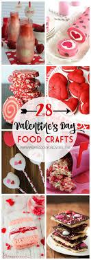 28 Days of Kid's Valentine's Day Food Crafts