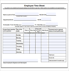 Sample Timesheets For Hourly Employees Sample Daily Timesheet Daily