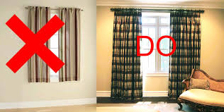cool window curtain ideas with plaid fabric and interior paint color also curtain hardware