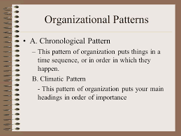 Pattern Of Organization Awesome Writing The Research Paper Organization Plan B Every Good Plan A