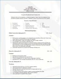 Sample Resume In Word Format Resume Example