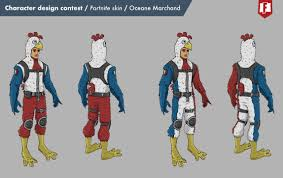 Design A Fortnite Skin Oceane Marchand Character Design Fortnite Skin Baguette