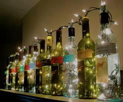wine bottle lighting. Unique Wine Lighted Wine Bottle Lamp And Lighting O