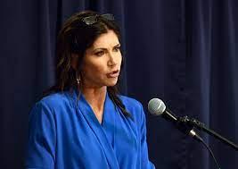Gov. Kristi Noem appeals court's Mount ...