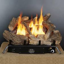 18 vent free log set with thermostat gld1850