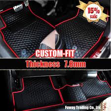 Car Rubber Floor Mats Custom Fit Car Floor Mats Made Waterproof Car