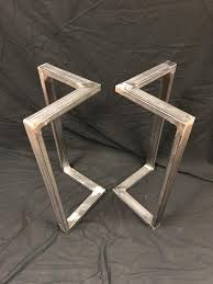metal table legsl shape sofa table end
