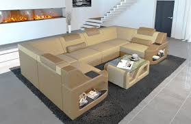 Fabric Sectional Sofa Manhattan U