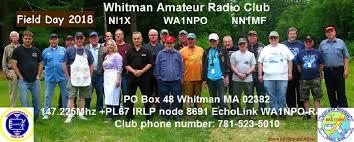 Whitman amateur radio club