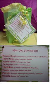 17 best ideas about new job gift mom birthday gift survival kit for co worker who is leaving for a new job going away