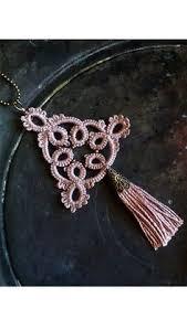 Dusty pink bohemian tassel necklace//<b>Boho chic</b> tassel necklace ...