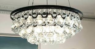 chandeliersarctic pear chandelier ochre crystal replica ch