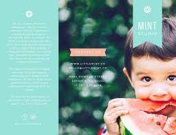 baby pamphlets customize 932 brochure templates online canva