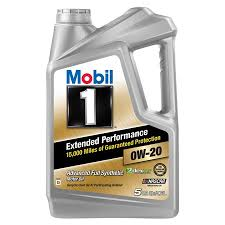 Mobil 1 Extended Performance Full Synthetic Motor Oil 0w 20 5 Qt