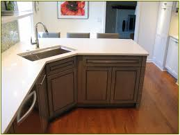 image of double corner sinks for kitchens