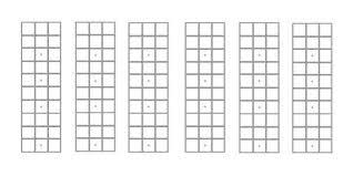 Blank Chord Chart Mandolin Chord Charts Fretboard Diagrams Blank Music