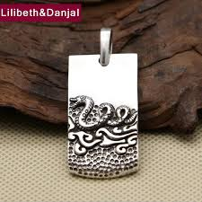 2017 men women dragon pendant 925 sterling silver ethnic animal zodiac signs necklace pendant gift fine jewelry fp38 uk 2019 from kuanbao