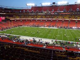 Fedex Field Seating Chart View Fedexfield View From Zone A Club 320 Vivid Seats