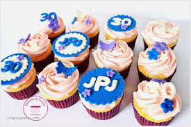 Purple Birthday Cupcakes Awesome Girly Cupcakes 30th Birthday