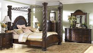 Buy Ashley Furniture North Shore Canopy Bedroom Set
