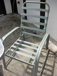 Refinishing outdoor patio furniture
